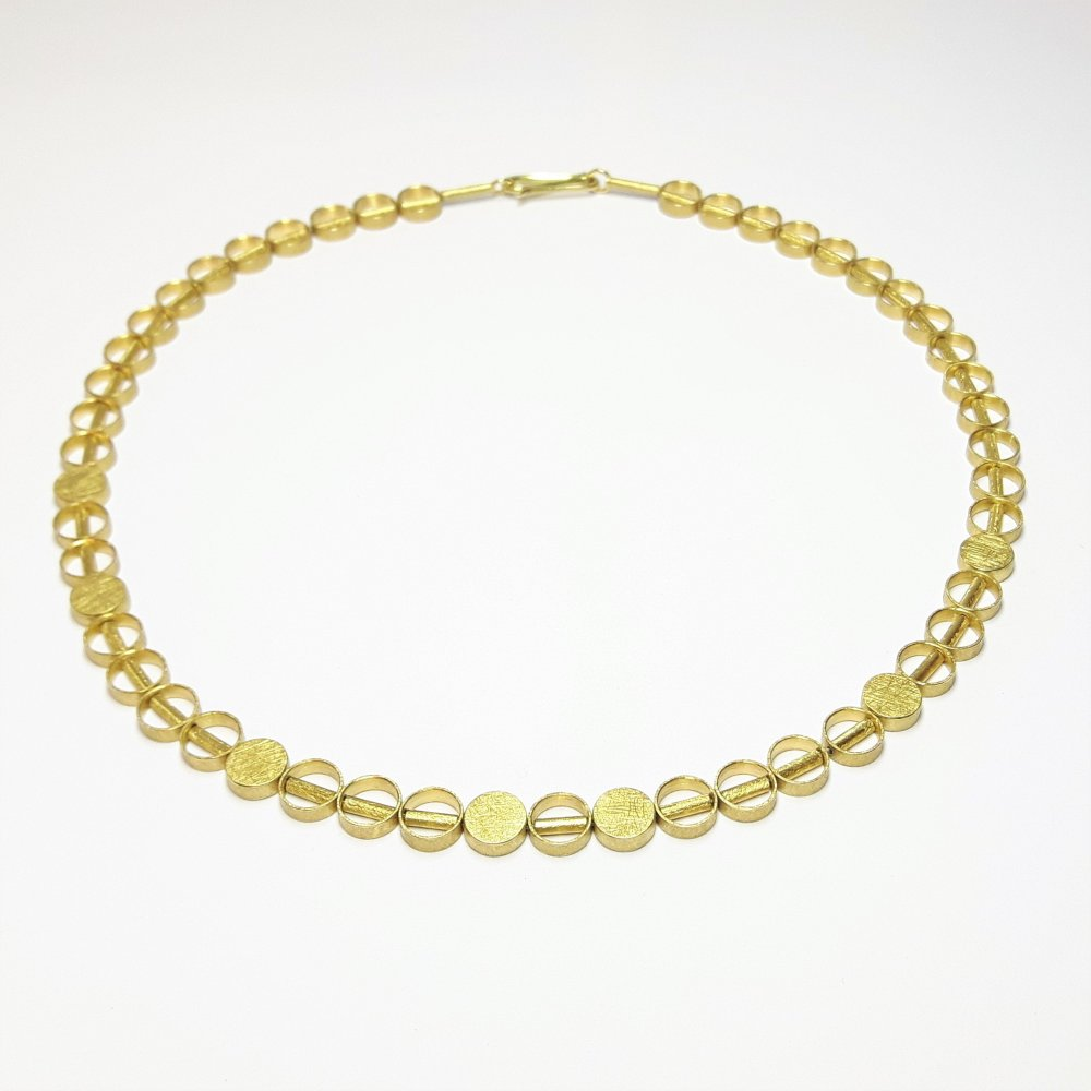 Collier en or jaune 18kt.