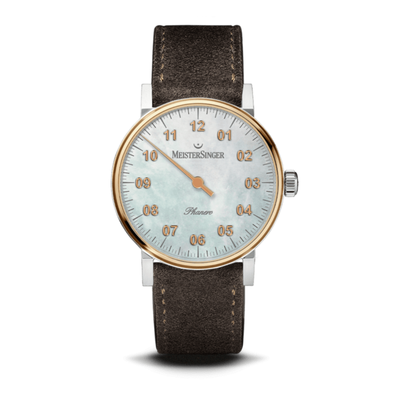 Meistersinger PHM1G Phanero mother of pearl